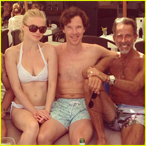 Benedict Cumberbatch: Shirtless Wedding Weekend!