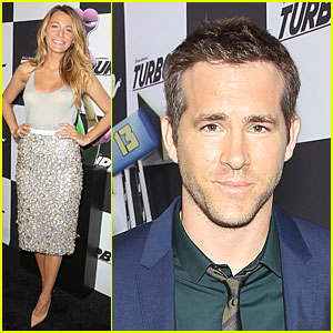 Blake Lively & Ryan Reynolds: 'Turbo' NYC Premiere!