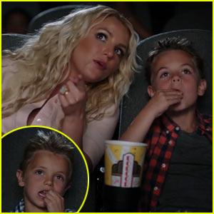 Britney Spears' 'Ooh La La' Video with Sean Preston & Jayden James!