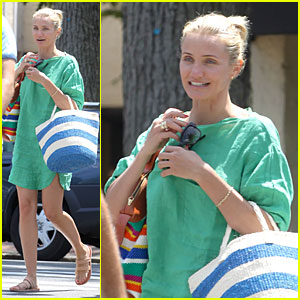 Cameron Diaz: Hamptons' Natural Beauty Queen!