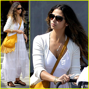 Camila Alves Stocks Up on Learning Supplies for the Kids