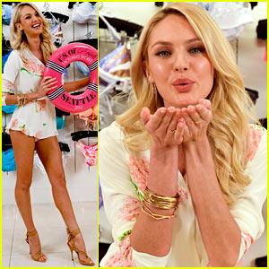 Candice Swanepoel: Victoria's Secret Swim Summer Tour!