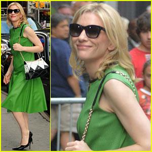 Cate Blanchett Talks Prepping for 'Blue Jasmine' in Socialite NYC