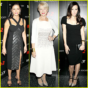 Catherine Zeta-Jones & Helen Mirren: 'Red 2' NYC Screening!
