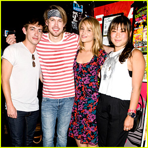 Chord Overstreet Performs at The Roxy, 'Glee' Cast Supports! (Exclusive Photos)