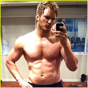 Chris Pratt Shows Off Shirtless 'Guardians of the Galaxy' Body!