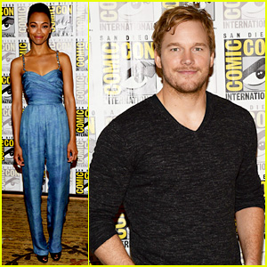 Chris Pratt & Zoe Saldana: 'Guardians of the Galaxy' Comic-Con Panel!