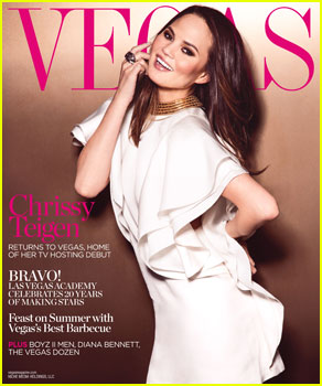 Chrissy Teigen Covers 'Vegas' Magazine Summer 2013