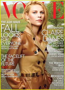 Claire Danes Covers 'Vogue' August 2013