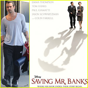 Colin Farrell: New 'Saving Mr. Banks' Poster Released!