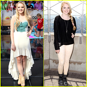 Danielle Bradbery Debuts 'Heart of Dixie' on the 'Today Show'!