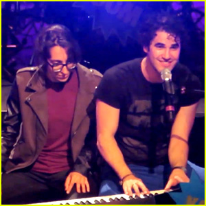 Darren Criss & Michelle Chamuel: 'Not Alone' Performance - Watch Now!