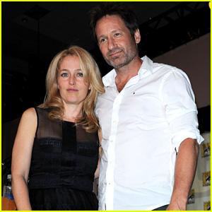 David Duchovny & Gillian Anderson: 'X-Files' Reunion at Comic-Con!