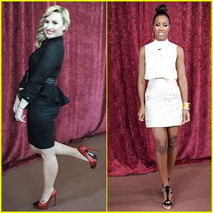 Demi Lovato & Kelly Rowland: 'X Factor' Denver Auditions!