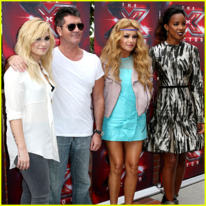 Demi Lovato & Kelly Rowland: 'X Factor' L.A. Auditions Day Two!