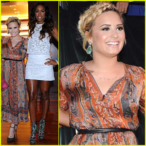 Demi Lovato & Kelly Rowland: 'X Factor' Day One L.A. Auditions!