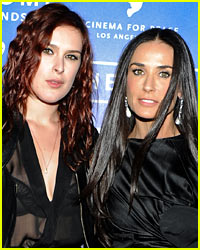 Demi Moore & Rumer Willis Attend Secret Yoga Trip Together!