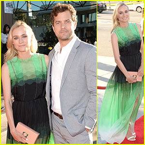 Diane Kruger & Joshua Jackson: 'The Bridge' Premiere!
