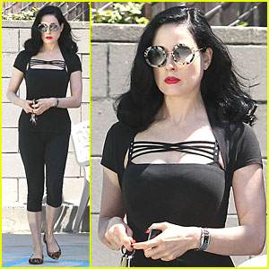 Dita Von Teese: We Aren't As Cool As Maud Wagner!