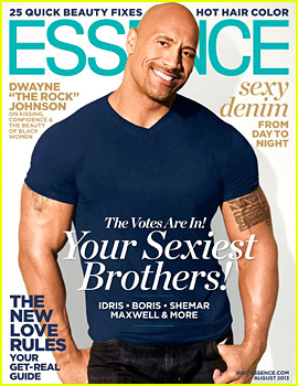 Dwayne 'The Rock' Johnson Covers 'Essence' August 2013