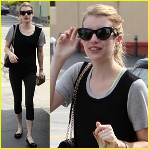 Emma Roberts Steps Out After Domestic Violence Arrest News