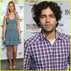 Erin Heatherton: Global Citizen Festival Press Conference 2013!