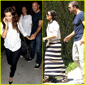 Eva Longoria & Ernesto Arguello: Dinner After House Hunting