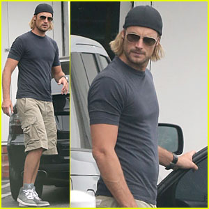 Gabriel Aubry & Nahla: Fred Segal Father-Daughter Duo!