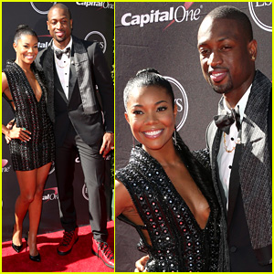 Gabrielle Union & Dwyane Wade - ESPYs 2013 Red Carpet