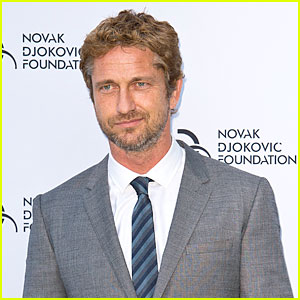 Gerard Butler: Novak Djokovic Foundation Gala Dinner!