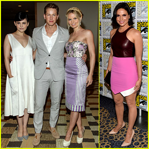Ginnifer Goodwin & Jennifer Morrison: 'Once Upon a Time' Comic-Con Panel!