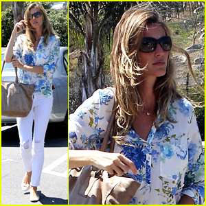 Gisele Bundchen: Flower Power Shopper!