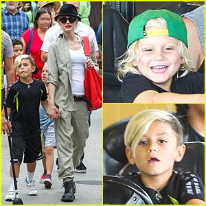 Gwen Stefani's Family Filled Knott's Berry Farm!