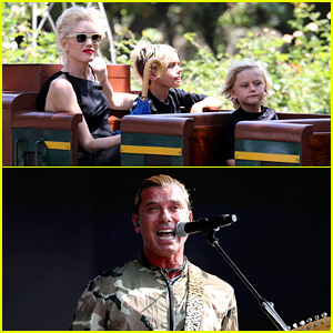 Gwen Stefani: Griffith Park Fun Time with Kingston & Zuma!