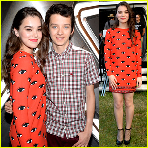 Hailee Steinfeld & Asa Butterfield: 'Ender's Game' Experience!