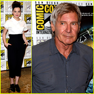 Hailee Steinfeld & Harrison Ford: 'Ender's Game' at Comic-Con!