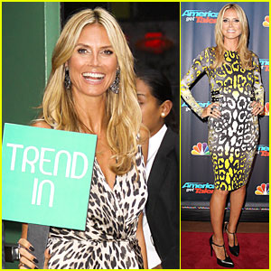 Heidi Klum: Trend In For 'Project Runway'!