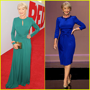 Helen Mirren: 'Red 2' Premiere & 'Jay Leno' Appearance!