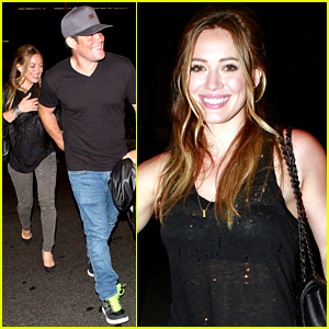 Hilary Duff: Bootsy Bellows Babe with Mike Comrie!
