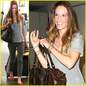 Hilary Swank's Pacific Palisades Home Up For Sale
