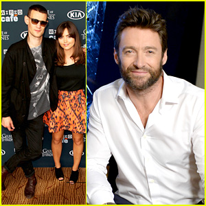 Hugh Jackman & Matt Smith: Wired Cafe at Comic-Con!