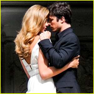 Ian Somerhalder Gets Steamy with Model Ana Beatriz Barros
