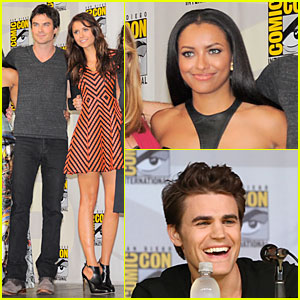 Ian Somerhalder & Nina Dobrev: 'Vampire Diaries' at Comic-Con!