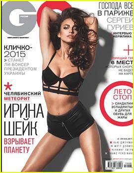 Irina Shayk Covers 'GQ Russia' - Exclusive!
