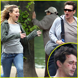 James Franco & Kate Hudson Run Wild for 'Good People'!