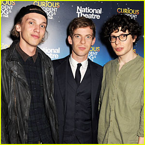 Jamie Campbell Bower: 'A Curious Night at the Theatre' After Party!
