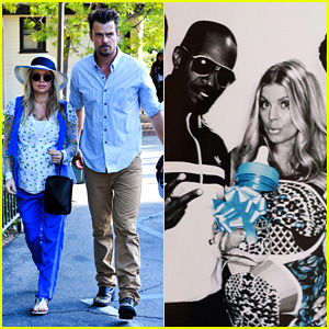 Jamie Foxx Surprises Fergie at Her 'Gayby' Baby Shower!