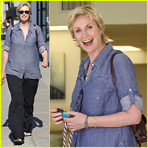 Jane Lynch: Cory Monteith's Memorial Was 'Beautiful' (Video)
