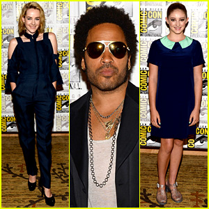 Jena Malone & Lenny Kravitz: 'Catching Fire' Comic-Con Panel!