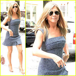Jennifer Aniston Reunited with Will Forte on 'Squirrels to the Nuts'!